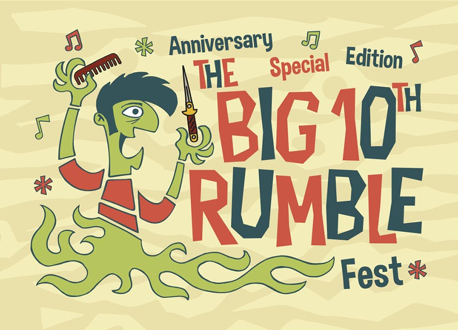 The Big Rumble 2017 banner