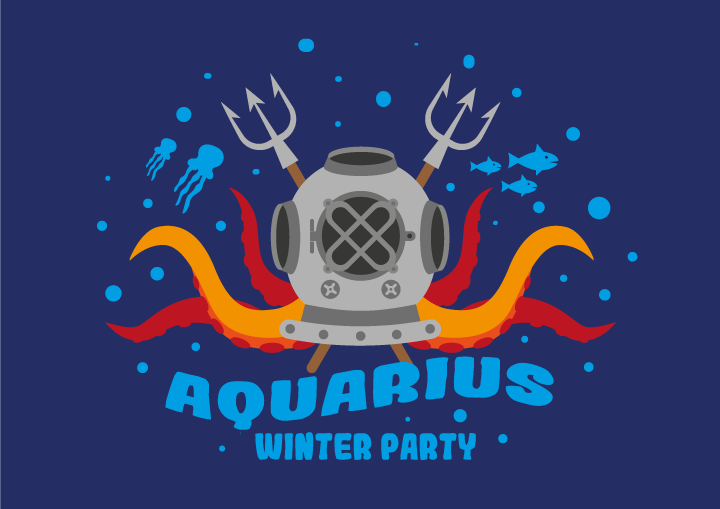 king-aquarius-party
