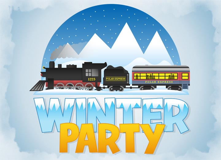 King Winter Party Polar Express