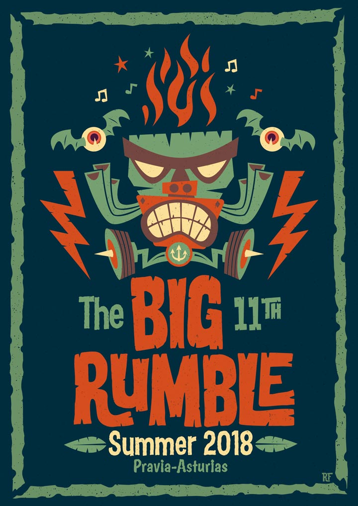 The Big 11th Rumble Festival Promo Poster