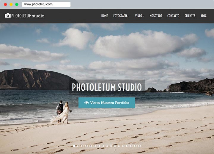 Photoletum Studio Web
